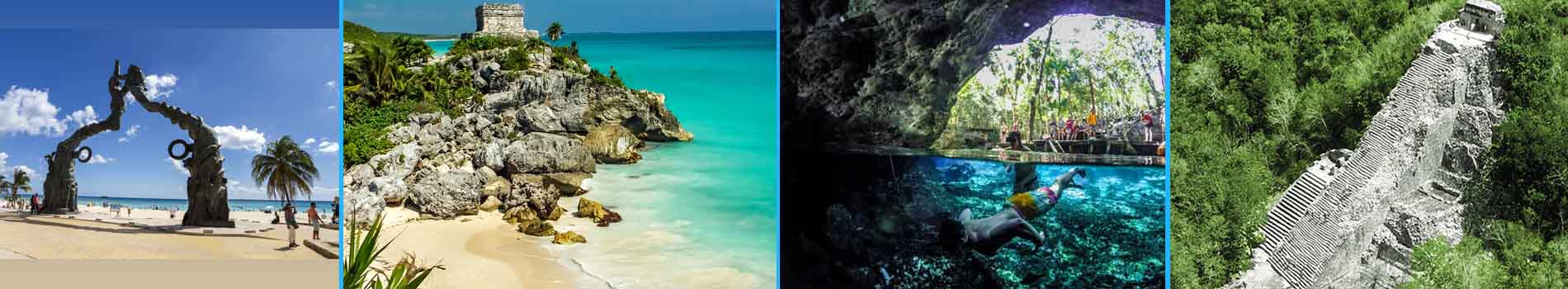 Tour a Tulum Coba desde Cancun