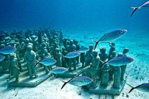 tour a musa museo subacuatico en cancun