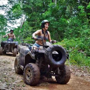 tour atvs amazing en cancun cuatrimotos nichupte tours