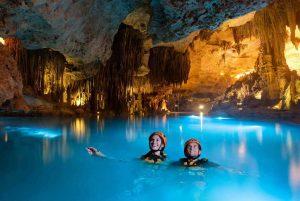 xplor cuenta con impresionantes rios subterraneos